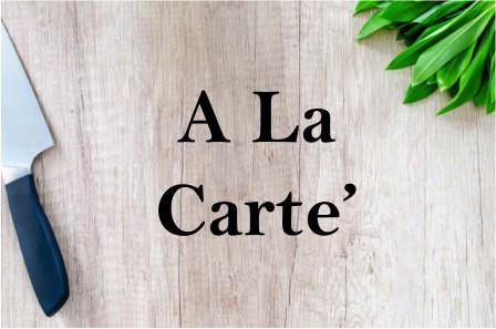 A La Carte Wellness Services